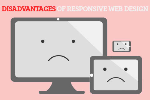 cons of responsive design