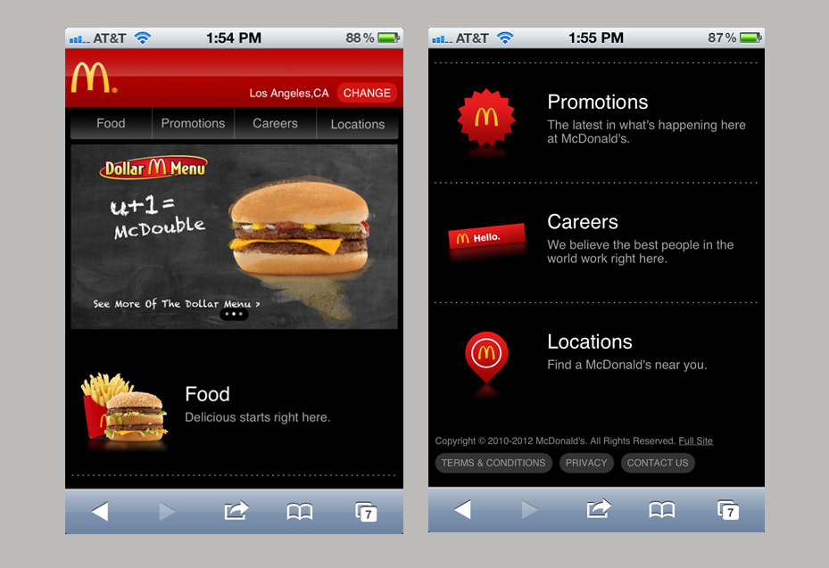 Some of the Best Mobile Website Designs   Boost One Mobile